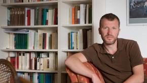 Schreibtische Frankfurter Schriftsteller - Der Schreibtisch von Andreas Maier