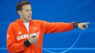 Da geht's lang: Im deutschen Schwimmverband gibt Henning Lambertz die Richtung vor