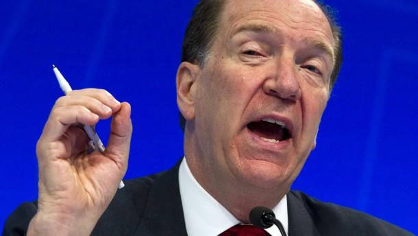 Weltbankchef fordert Schuldenerlass für ärmste Länder