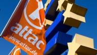 Doch gemeinnützig: Attac (Symbolbild)
