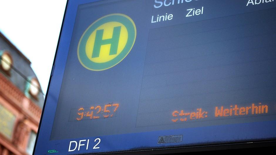 Hessische Busfahrergewerkschaften kündigen weitere Streiks in der kommenden Woche an.