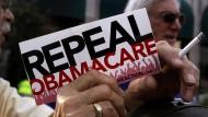 Republikaner beginnen mit Abschaffung von Obamacare