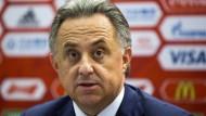 Macht wieder auf sich aufmerksam: Sportminister Mutko