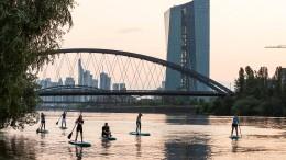 Frankfurt schrumpft
