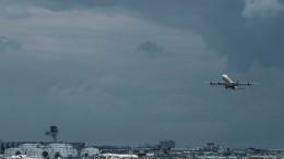 Reizgas am Frankfurter Flughafen versprüht