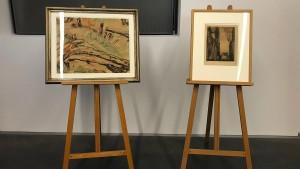Von Nazis geraubtes Aquarell bei Auktion wiederentdeckt