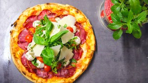 Das ist die beste Pizza Frankfurts