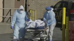 Mehr als 10.000 Coronavirus-Tote in Amerika