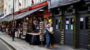 Londons Immobilienpreise sinken