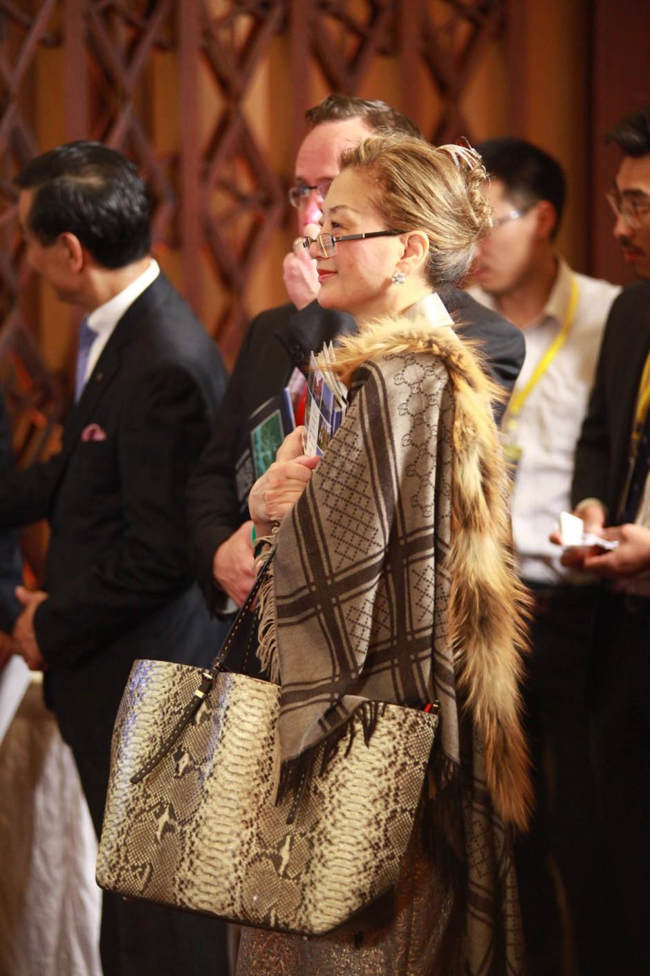 """Besucher auf der Luxusmesse: Die Reichen sind die Prototypen für die chinesischen """"Normalbürger"""""""