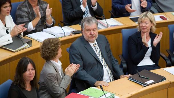 Beck bleibt Ministerpräsident