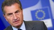 Günther Oettinger wird EU-Haushaltskommissar