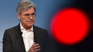Morddrohung gegen Siemens-Chef