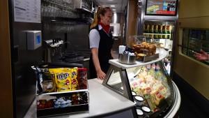 Bahnreisende bekommen einen neuen Speiseplan