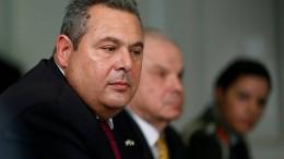 Griechischer Verteidigungsminister tritt zurück