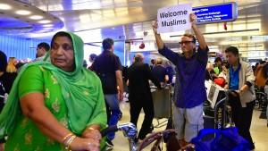 Trumps Einreiseverbot ist in Kraft
