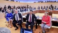 Vor den ersten Beratungen der G 20 in Hamburg