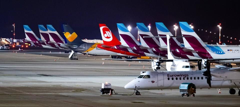 Flugausfalle Befurchtet Warnstreik Am Flughafen Dusseldorf