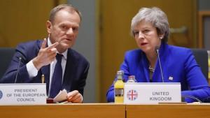 Donald Tusk beruft für Donnerstag Brexit-Gipfel ein