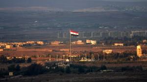 Israel schießt wieder auf Ziele in Syrien