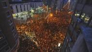 Zehntausende Basken demonstrieren für Eta-Häftlinge