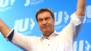 Söder will im Landtagswahlkampf Stärke Bayerns betonen