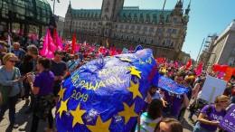 Tausende demonstrieren gegen Nationalismus in Europa