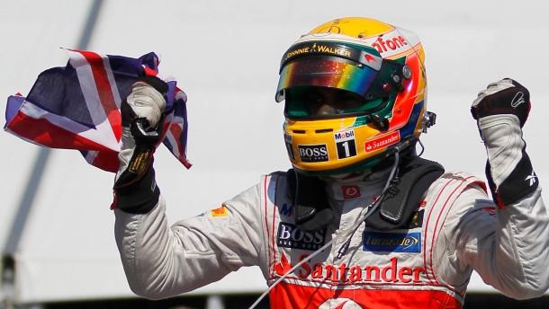 Lewis Hamilton, Sieger 007