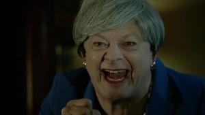 Theresa May als Gollum geht viral