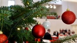 Schatz, bestellst du noch den Weihnachtsbaum bei Amazon?