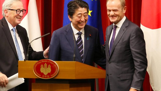 EU und Japan im bilateralen Bündnis