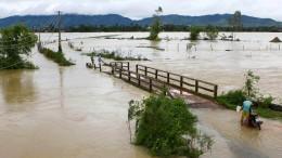 Zahlreiche Tote bei Überflutung