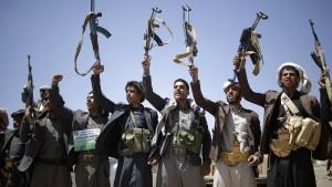 Houthi im Siegestaumel
