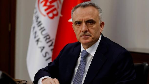 Türkischer Zentralbank-Chef entlassen