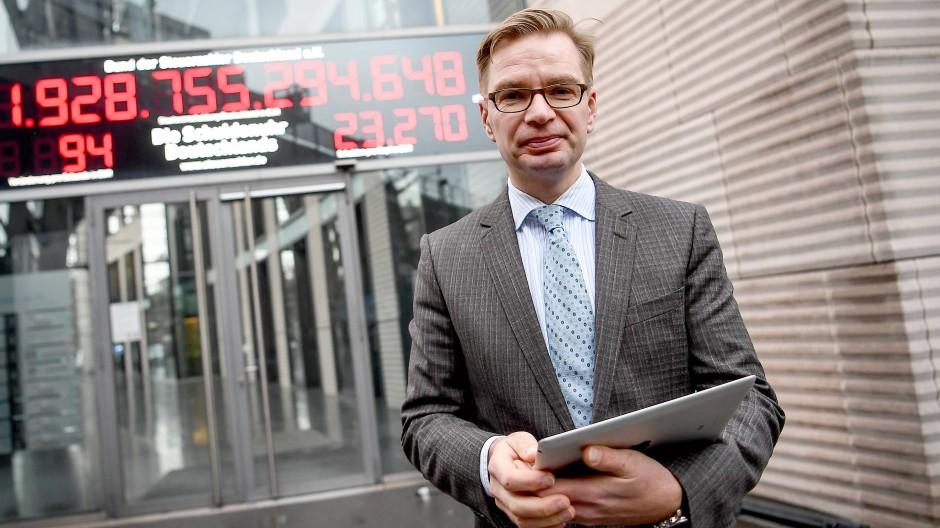 Reiner Holznagel, Präsident des Bund der Steuerzahler (BdSt) am Montag in Berlin