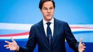 Der niederländische Premier Mark Rutte