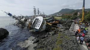 """Taifun """"Meranti"""" wütet über Südchina"""