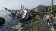 Taifun Meranti wütet über Südchina