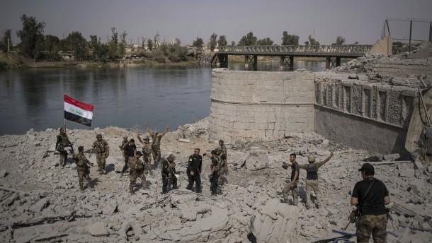 Irakische Armee meldet vollständige Einnahme