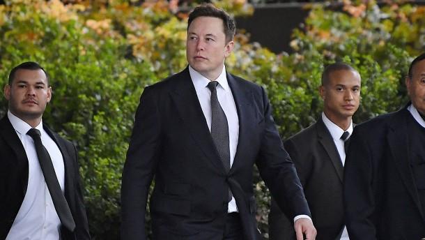 """Für Musk ist """"pädophiler Kerl"""" eine """"allgemeine Beleidigung"""""""