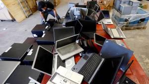 Computer kommen aus der Mode