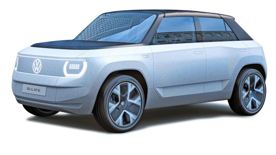VW ID Life: Soll etwa 2025 die Stadt erobern. 4 Meter lang, mit  Frontantrieb, 234 PS, 57 kWh, 400 Kilometer Reichweite nach WLTP-Norm, 180 km/h schnell.
