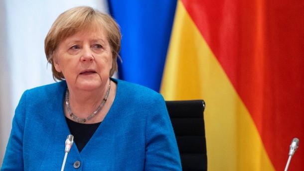 Merkel sieht keine Belastung in Beziehung zu Dänemark