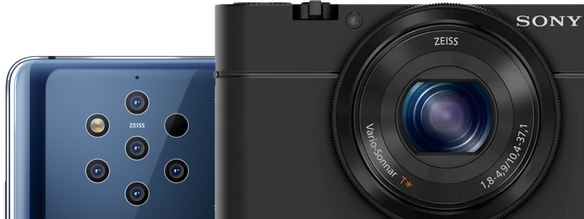 Smartphone gegen Kamera