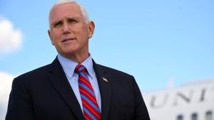 """Niemand unterschätzt Mike Pence"""