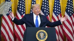 Trump will friedliche Machtübergabe nicht garantieren
