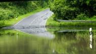 Keine Chance gegen einen Jahrhundert-Regen
