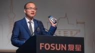 Guo Guangchang, langjähriger Geschäftspartner von Thomas Cook stellt dem Konzern keine weitere Finanzierung bereit. (Archivbild)