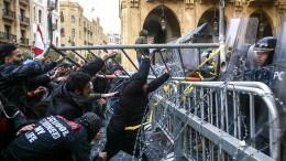 Hunderte Verletzte bei Ausschreitungen in Beirut
