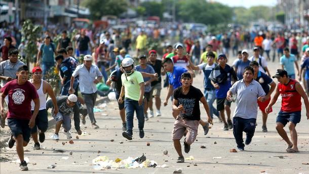 """""""Wir wollen kein zweites Venezuela werden"""""""